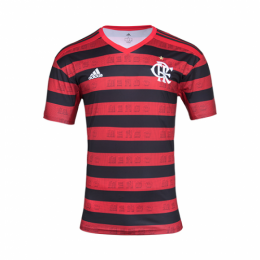 19-20 CR Flamengo Home Red&Black Soccer Jerseys Shirt