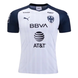 19/20 Monterrey Away White Soccer Jerseys Shirt