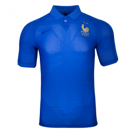 2019 France Home 100-Years Anniversary Jerseys Shirt(Player Version)