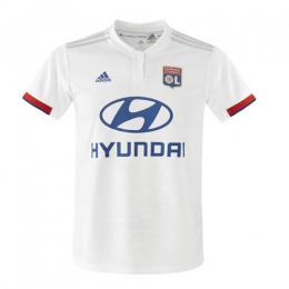 19-20 Olympique Lyonnais Home White Jerseys Shirt