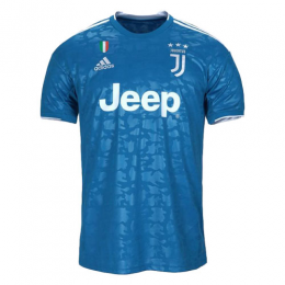 19/20 Juventus Third Away Blue Soccer Jerseys Shirt