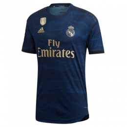 19/20 Real Madrid Away Navy Soccer Jerseys Shirt(Player Version)