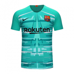 19/20 Barcelona Goalkeeper Blue Soccer Jerseys Shirt