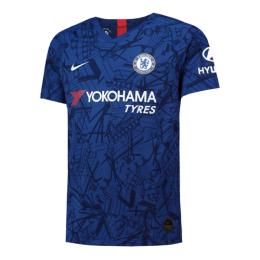 19-20 Chelsea Home Blue Soccer Jerseys Shirt(Player Version)