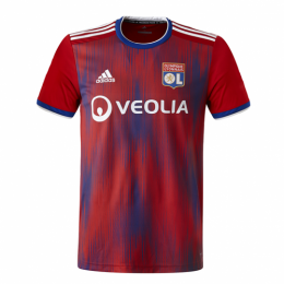 19/20 Olympique Lyonnais Third Away Red Jerseys Shirt
