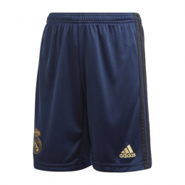 19-20 Real Madrid Away Navy Soccer Jerseys Short
