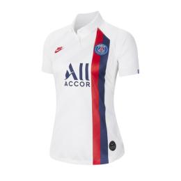 19/20 PSG Third Away White Women's Soccer Jerseys Shirt