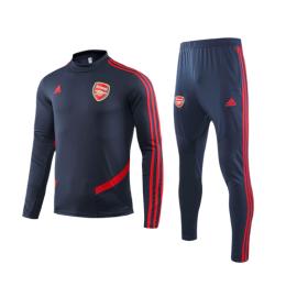 19/20 Arsenal Navy O-Neck Sweat Shirt Kit(Top+Trouser)