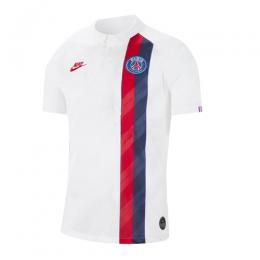 19/20 PSG Third Away White Soccer Jerseys Shirt(Player Version)