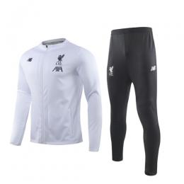 19/20 Liverpool White Training Kit(Jacket+Trouser)