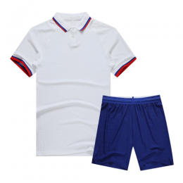 Chelsea Style Customize Team White Soccer Jerseys Kit(Shirt+Short)