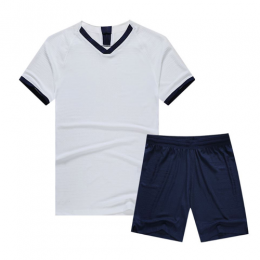Tottenham Hotspur Style Customize Team White Soccer Jerseys Kit(Shirt+Short)