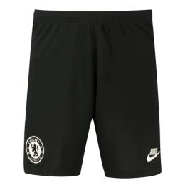 19/20 Chelsea Third Away Black Soccer Jerseys Short