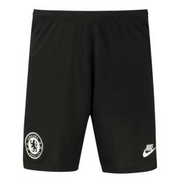 19/20 Chelsea Third Away Black Soccer Jerseys Short