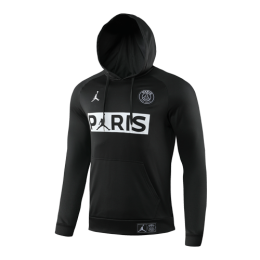 19/20 PSG JORDAN Black Hoody Sweater