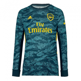 19/20 Arsenal Goalkeeper Green Long Sleeve Jerseys Shirt