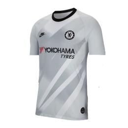 19/20 Chelsea Goalkeeper Gray&White Jerseys Shirt