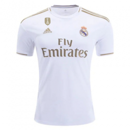 19/20 Real Madrid Home White Soccer Jerseys Shirt