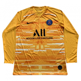 19/20 PSG Goalkeeper Yellow Long Sleeve Jerseys Shirt