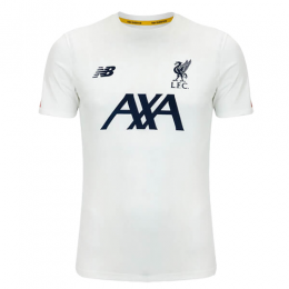 19/20 Liverpool White Training Shirt