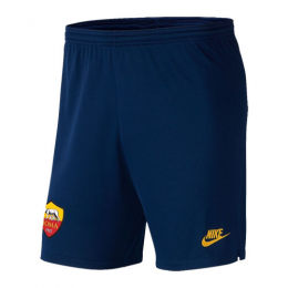 19/20 Roma Third Away Navy Soccer Jerseys Short