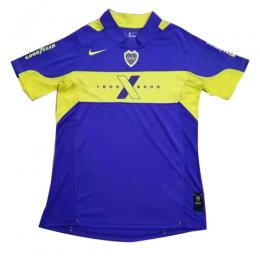 2005 Boca Juniors Home Blue Retro Soccer Jerseys Shirt