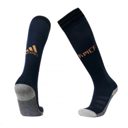 19-20 Real Madrid Away Navy Soccer Jersey Socks