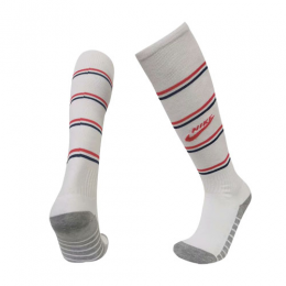 19/20 PSG Third Away White Soccer Jerseys Socks