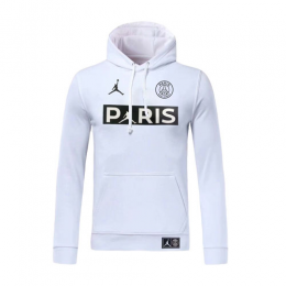 19/20 PSG JORDAN White Hoody Sweater