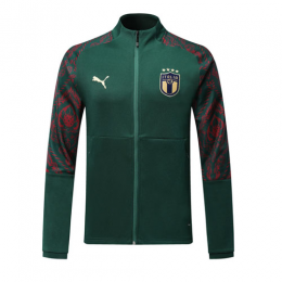 2019 Italy Dark Green Training Jacket