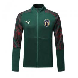 2019 Italy Dark Green Training Jacket