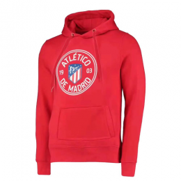 19/20 Atletico Madrid Red Hoodie Sweater
