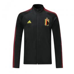 2019 Belgium Black High Neck Collar Training Jacket