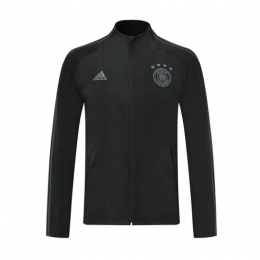 2019 Germany Black High Neck Collar Training Jacket