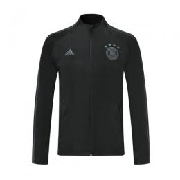 2019 Germany Black High Neck Collar Training Jacket