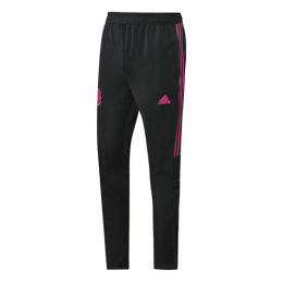 2019 Mexico Black&Rose Red Training Trousers