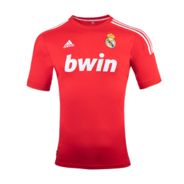 11-12 Real Madrid Third Away Red Retro Jersey Shirt