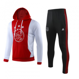 19/20 Ajax Red Hoodie Sweat Shirt Kit(Top+Trouser)