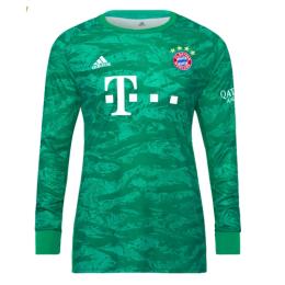 19-20 Bayern Munich Green Long Sleeve Goalkeeper Jerseys Shirt