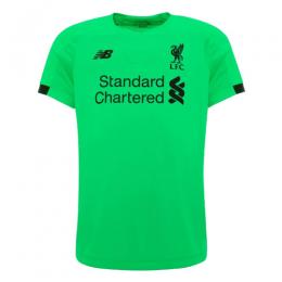 19-20 Liverpool Goalkeeper Green Soccer Jerseys Shirt