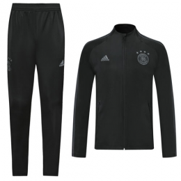 2019 Germany Black High Neck Collar Training Kit(Jacket+Trousers)