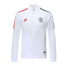 19/20 PSG Snow White High Neck Collar Training Jacket