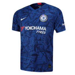 19/20 Chelsea Home Blue Soccer Jerseys Shirt