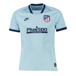 19/20 Atletico Madrid Third Away Blue Soccer Jerseys Shirt(Player Version)