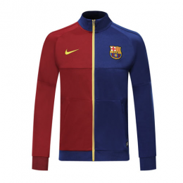 19/20 Barcelona Red&Blue High Neck Collar Training Jacket