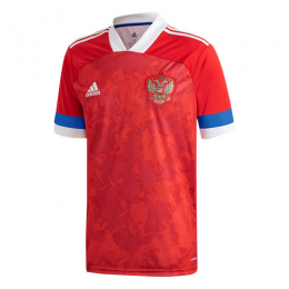 2020 Russia Home Red Soccer Jerseys Shirt