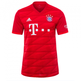 19-20 Bayern Munich Home Red Jerseys Shirt(Player Version)