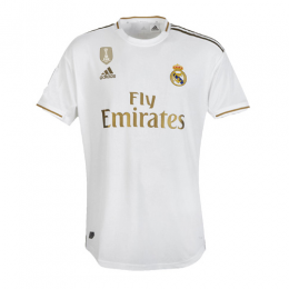 19-20 Real Madrid Home White Soccer Jerseys Shirt(Player Version)