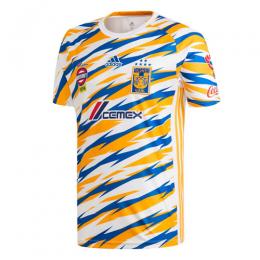2019 Tigres UANL Third Away Yellow&Blue Soccer Jerseys Shirt