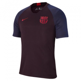 19/20 Barcelona Dark Red Training Shirt(Player Version)